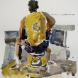 Seated Athelete_12x16_Watercolor