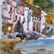 Cefalu Waterfront_6x9_Watercolor