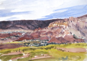 View From Ghost Ranch
